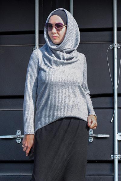 Мусульманские блузки, бадлоны/накидки