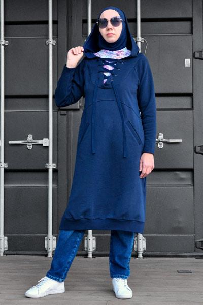 Мусульманские туники, Туники до колен, спортивные мусульманские костюмы